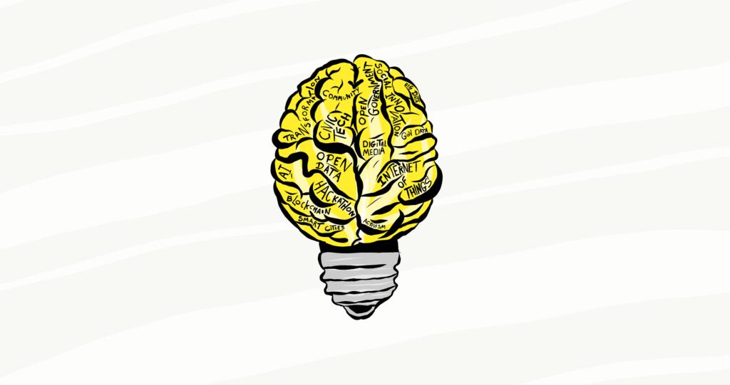 Glühbirne, Open Data, Open Science, Gehirn